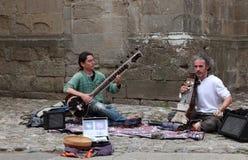 Musica indiana Fotografia Stock