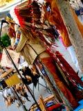 Musica indiana del gioco del gruppo dell'nativo americano Immagine Stock
