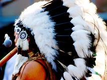 Musica indiana del gioco del gruppo dell'nativo americano Immagini Stock Libere da Diritti