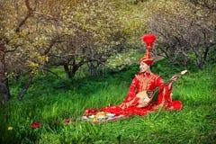 Musica kazaka immagini stock