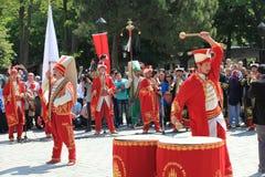 Musica militare dell'ottomano fotografia stock libera da diritti