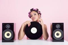 Musica nel rosa Immagine Stock