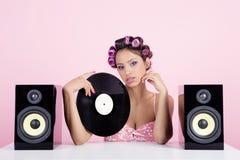 Musica nel rosa Fotografie Stock Libere da Diritti