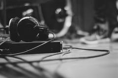 Musica nello studio Fotografia Stock
