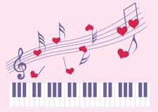 Musica per il favorito illustrazione vettoriale