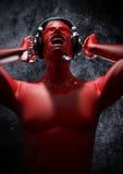 Musica per saltare la vostra mente Fotografie Stock Libere da Diritti