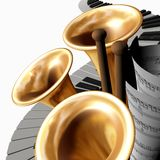 Musica quattro royalty illustrazione gratis