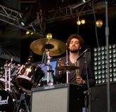 Musica rock americana Belhi rotte fascia Fotografie Stock Libere da Diritti