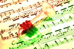 Musical Royalty Free Stock Photography