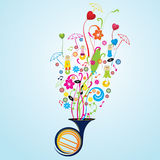Musical Royalty Free Stock Images