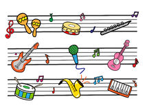 Musical libre illustration