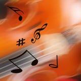 Musical abstract Royalty Free Stock Photos