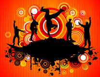 Musical abstract vector Stock Photography