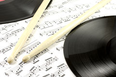 Musical abstraction Stock Photo