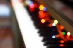 Musical abstrait de Noël photos libres de droits