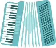Musical Accordion Royalty Free Stock Photo