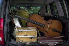 Musical And Artist Equipment Stock Photo