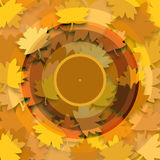 Musical autumn Royalty Free Stock Images