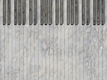 Musical background. Background with an piano keys Stock Photography