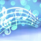 Musical background Stock Photography