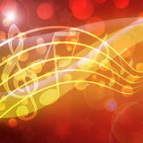 Musical background Stock Photo