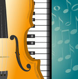 Musical background. Art classic melody Stock Photo
