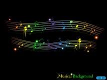 Musical background Stock Photos