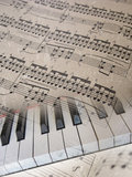 Musical background. Royalty Free Stock Photos