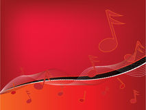 Musical background. Abstract musical background. More in my portfolio royalty free illustration