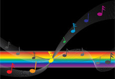 Musical background. Abstract musical background. More in my portfolio stock illustration