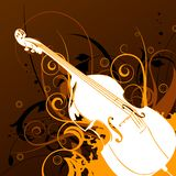 Musical Background Royalty Free Stock Photos