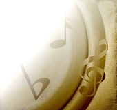 Musical Background royalty free illustration
