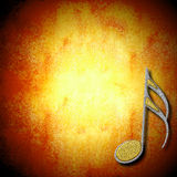Musical background card Royalty Free Stock Photos