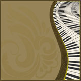 Musical background2h Royalty Free Stock Photography