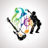 Musical background for music event design. Abstract musical background for music event design stock illustration