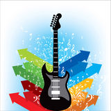 Musical background for music event design Royalty Free Stock Image