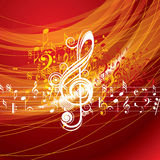 Musical background for music event design Royalty Free Stock Images