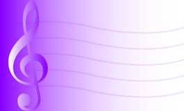 Musical Background/Purple/eps Stock Photo