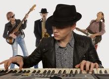 Musical band Stock Photo
