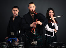 Scottish musical band Stock Photography