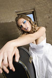 Musical Bride Royalty Free Stock Image