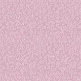 Musical cartoon seamless pattern Stock Photos