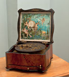 Musical casket of the middle of 18 centuries. stock photos