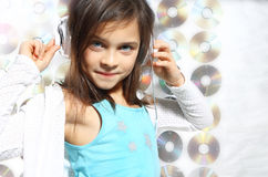 Musical child Royalty Free Stock Image