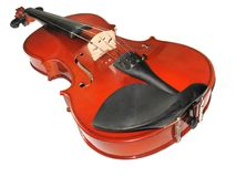 Musical classic violin isolated Stock Photo