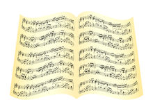 Musical composition Royalty Free Stock Photo