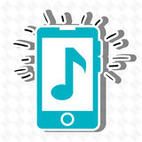 Musical concept design Stock Images