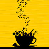 Musical cup2 Royalty Free Stock Image