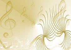 musical de fond Image stock