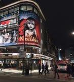 Musical de Les Miserables en el teatro Londres Londres Reino Unido del Queens Fotografía de archivo
